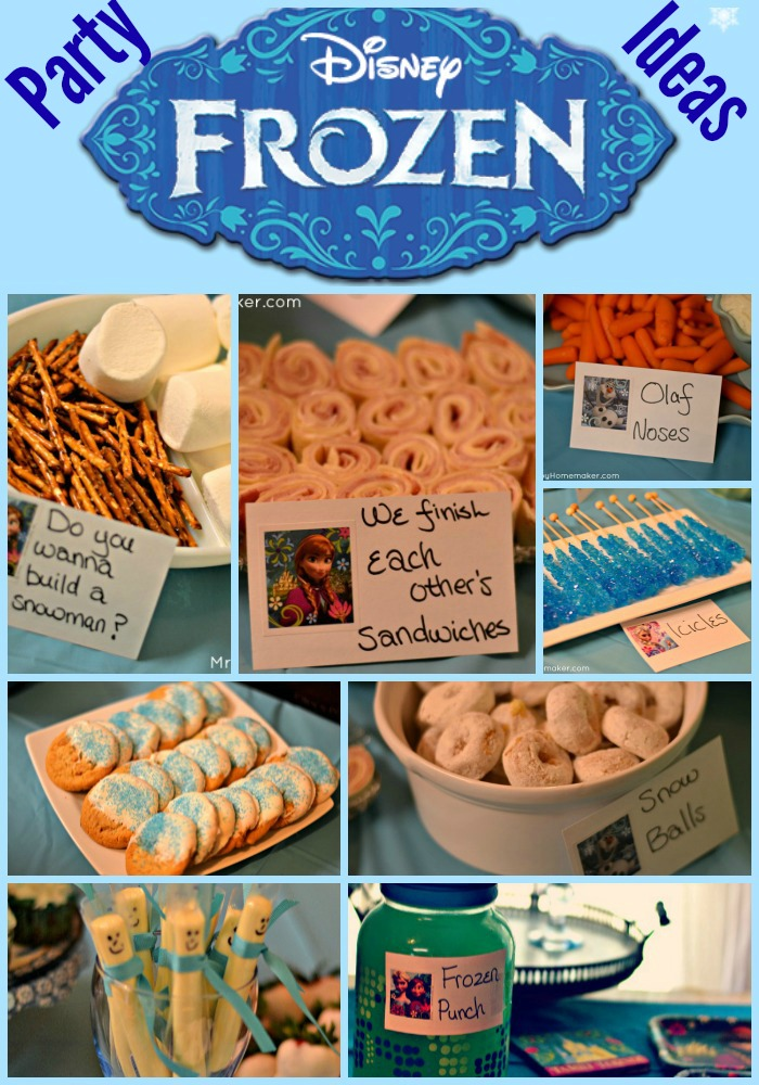 Frozen Birthday Party Ideas - Easy & Budget Friendly