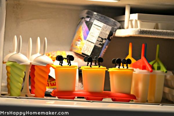 Pineapple & Cream Ice Pops