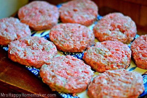 Cabbage & PIneapple Slaw Burgers #proudofit