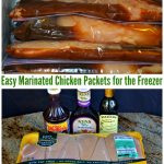 Easy Marinated Freezer Chicken Packets