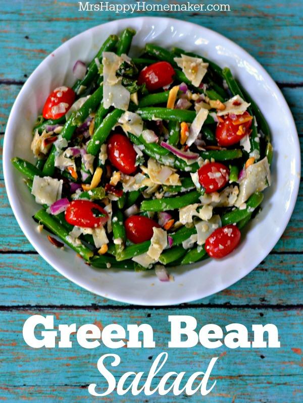 Green Bean Salad Mrs Happy Homemaker