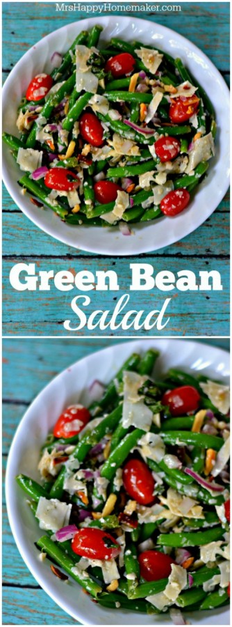 Green Bean Salad - a spin on one of Jamie Deen's recipes, this is so good!