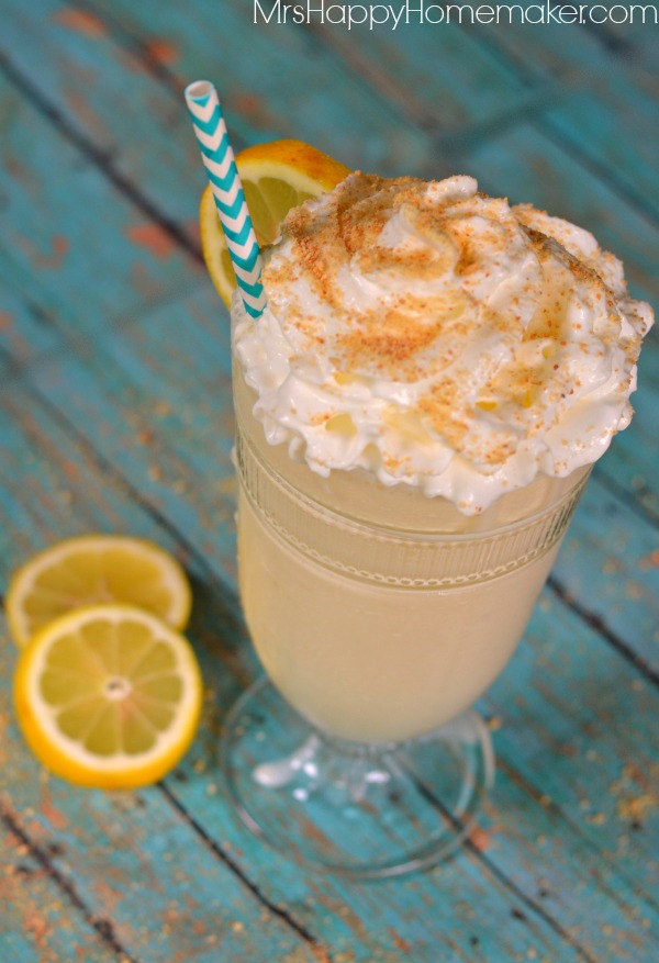 Lemon Pie Milkshakes - just 3 ingredients