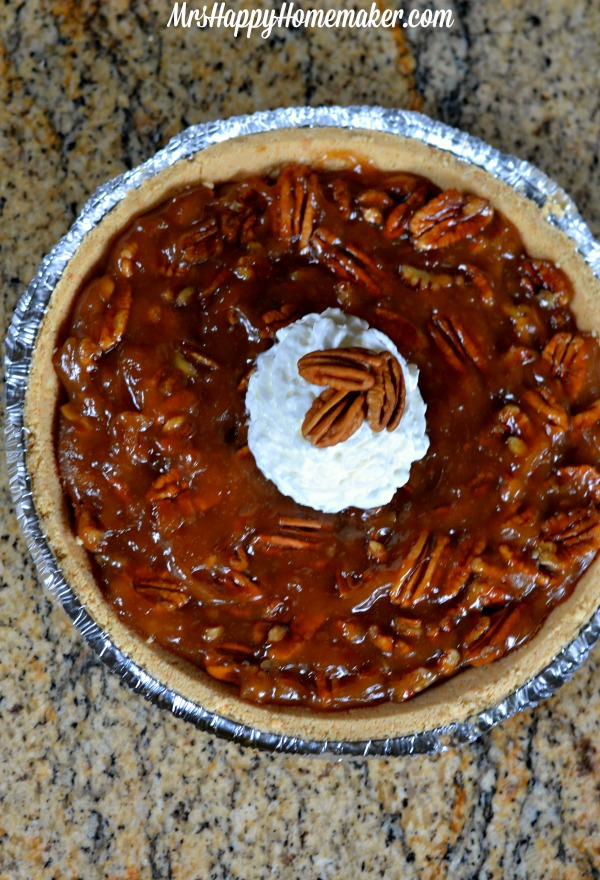 No Bake Pecan Pie | Mrs Happy Homemaker