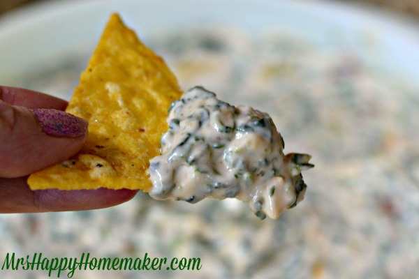 Whole Foods Cold Spinach Artichoke Dip