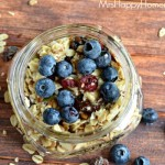 Overnight Blueberry Oatmeal