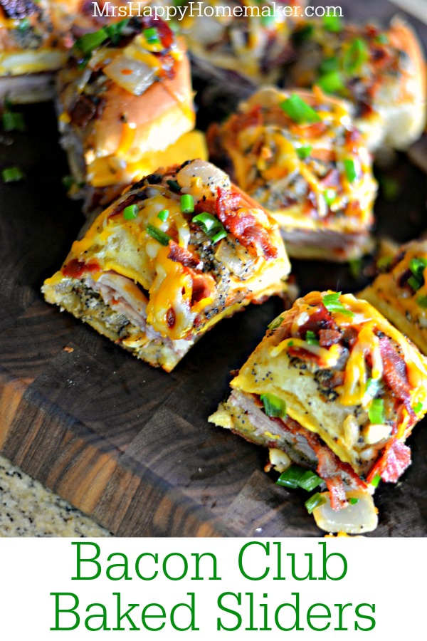 Bacon Club Baked Sliders