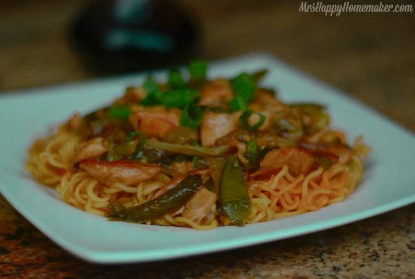 Garlic Chicken Stir Fry