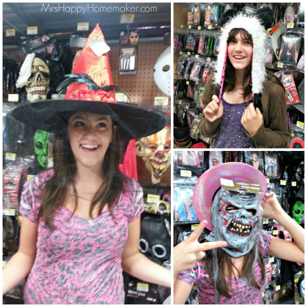 Halloween Shopping with MrsHappyHomemaker.com