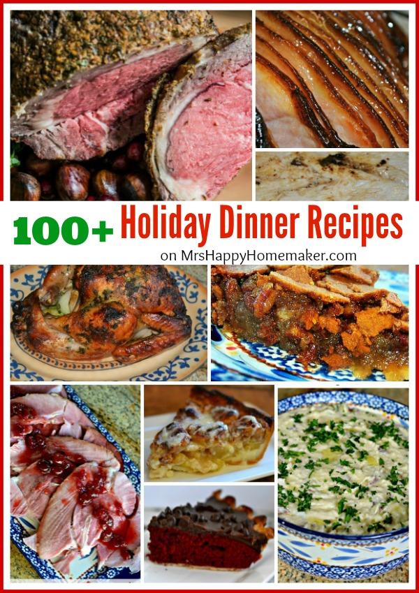 100+ Holiday Dinner Recipes