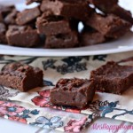 2 Ingredient German Chocolate Fudge