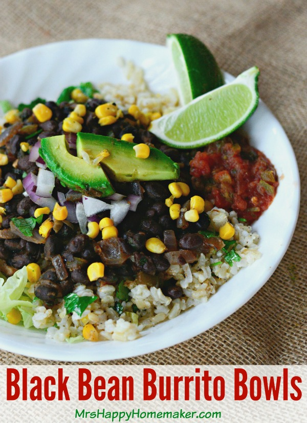 ... These Black Bean Burrito Bowls are so delicious, everyone will rave
