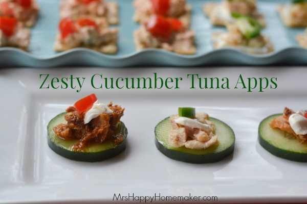 Zesty Cucumber Tuna Apps