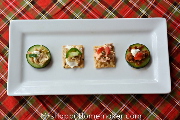Holiday Appetizers 3 Ways