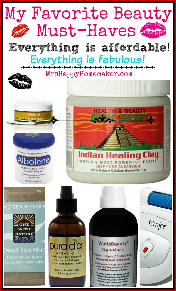 My Favorite Beauty Must-Haves - everything is affordable & everything is fabulous!