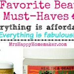 My Favorite Beauty Products & They're All Affordable!