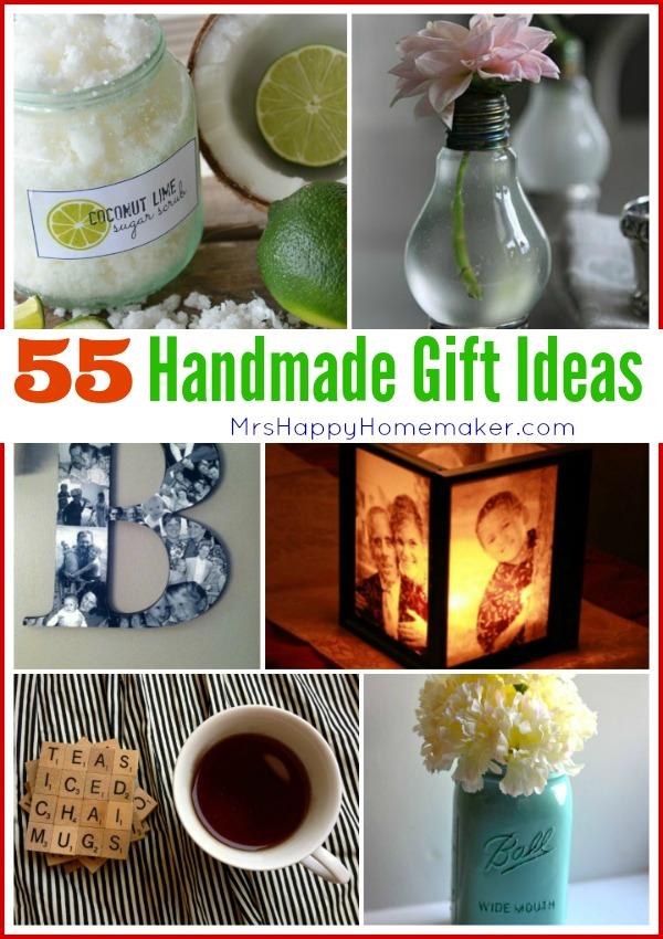55 Handmade Gift Ideas – Mrs Happy Homemaker