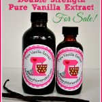 Double Strength Pure Vanilla Extract for Sale