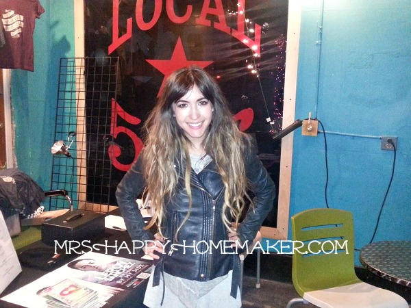 Kate Voegele shares a recipe on Mrs Happy Homemaker