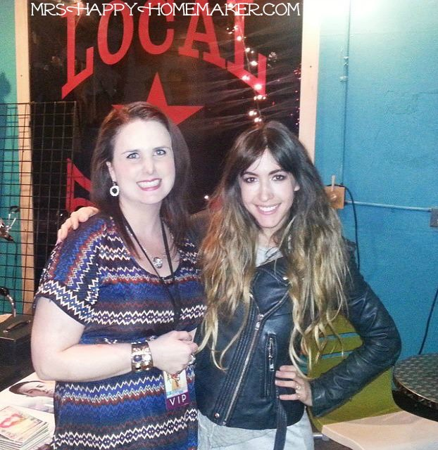 Kate Voegele & Mrs Happy Homemaker