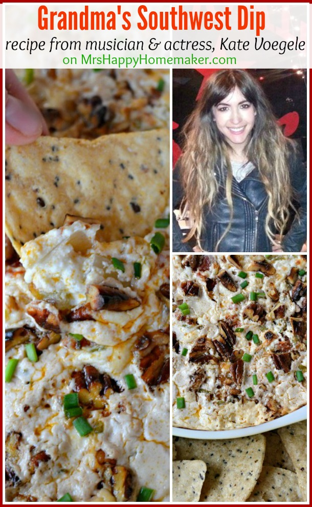Kate Voegele's Grandma's Southwest Dip recipe