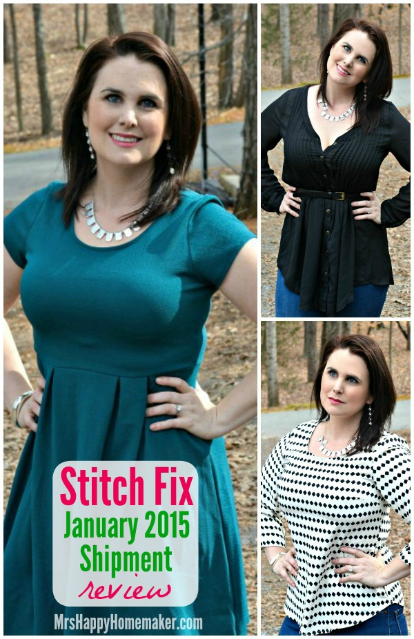 Mrs Happy Homemaker - Stitch Fix Review