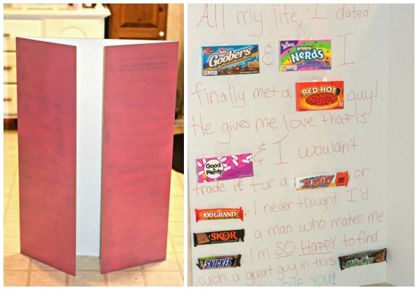 Super Sized Candy Card