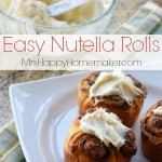 New Video – Easy Nutella Rolls