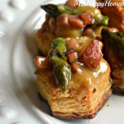 Creamy Ham, Potato, & Asparagus Pastry