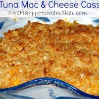 Easy Tuna Mac and Cheese Casserole