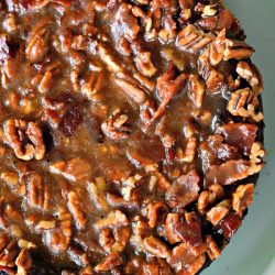 Maple Bacon Praline Cheesecake - This recipe won the grand prize in the 2015 Crown Maple Syrup Recipe contest!