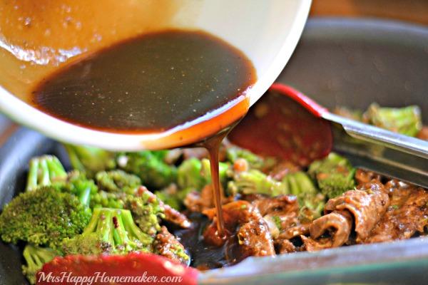 Restaurant Style Beef & Broccoli
