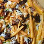 Bacon Ranch French Fry Pizza