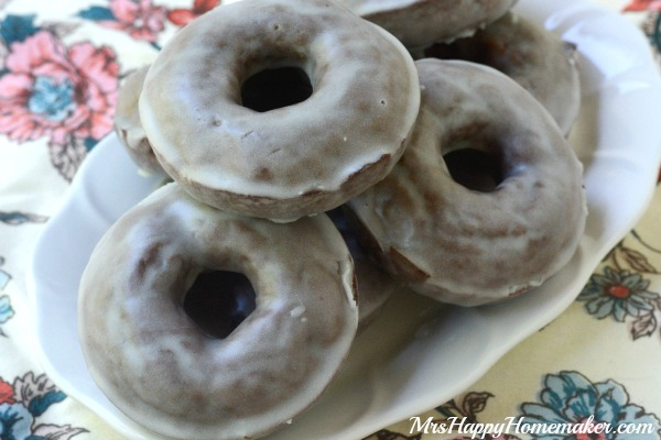 Best Ever Baked Chocolate Donuts