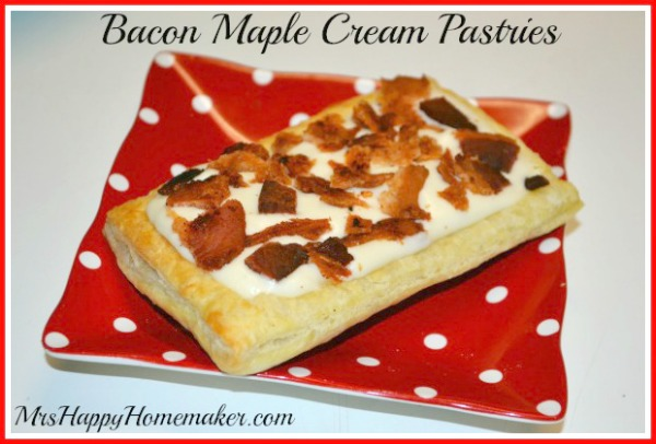Maple Bacon Pastries