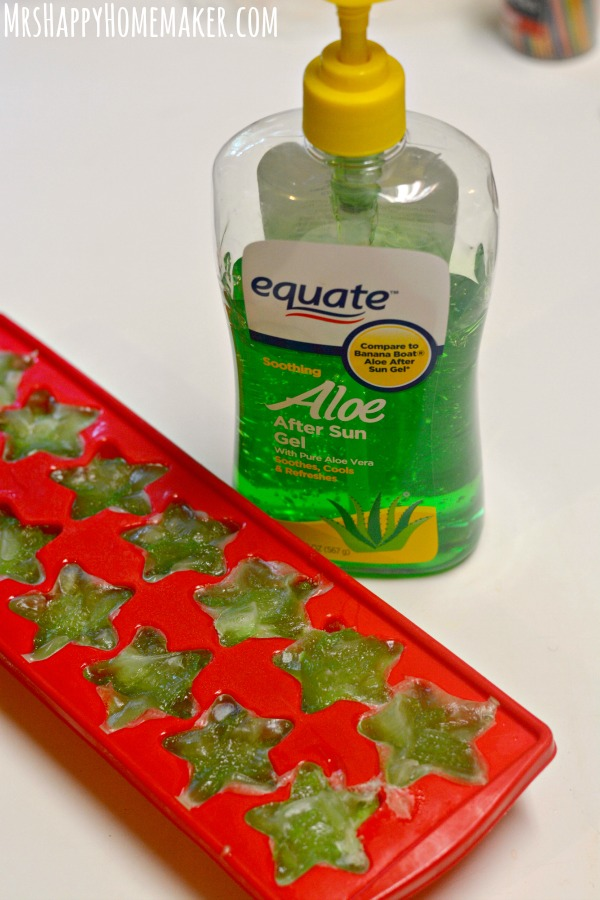 how to get rid of sunburn overnight without aloe