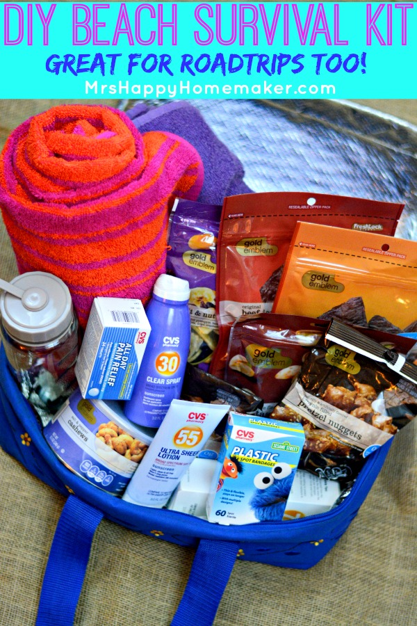 Diy Summer Survival Kit Great For Beach Picnics Amp More