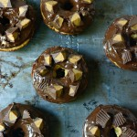 Reese's Cup Peanut Butter Chocolate Cake Donuts