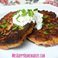 Garlic and Onion Savory Zucchini Pancakes