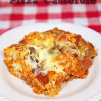 Quick Pizza Casserole