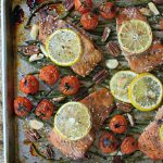 One Sheet Pan Ginger Teriyaki Salmon & Green Beans