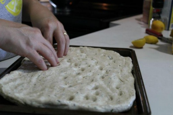 Herb Focaccia Bread - This delicious bread is made so incredibly easy and made from scratch!