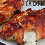 BBQ Bacon and Cheese Stuffed Chicken