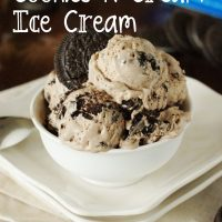 Easy Chocolate Cookies and Cream Ice Cream recipe