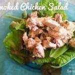MHH - Easy Smoked Chicken Salad - Plated