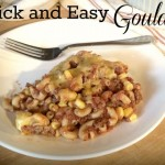 Quick and Easy Goulash ~ Guest Post ~