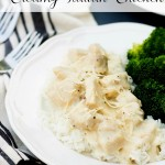 Lightened Up Creamy Italian Chicken