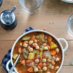 Chickpea Garden Vegetable Soup 2
