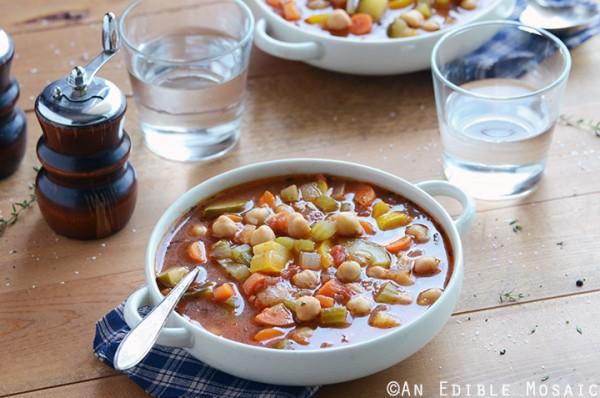 Chickpea Garden Vegetable Soup 3