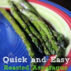 Quick and Easy Roasted Asparagus